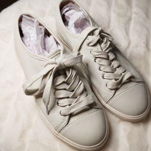 Frye white sneakers NWT